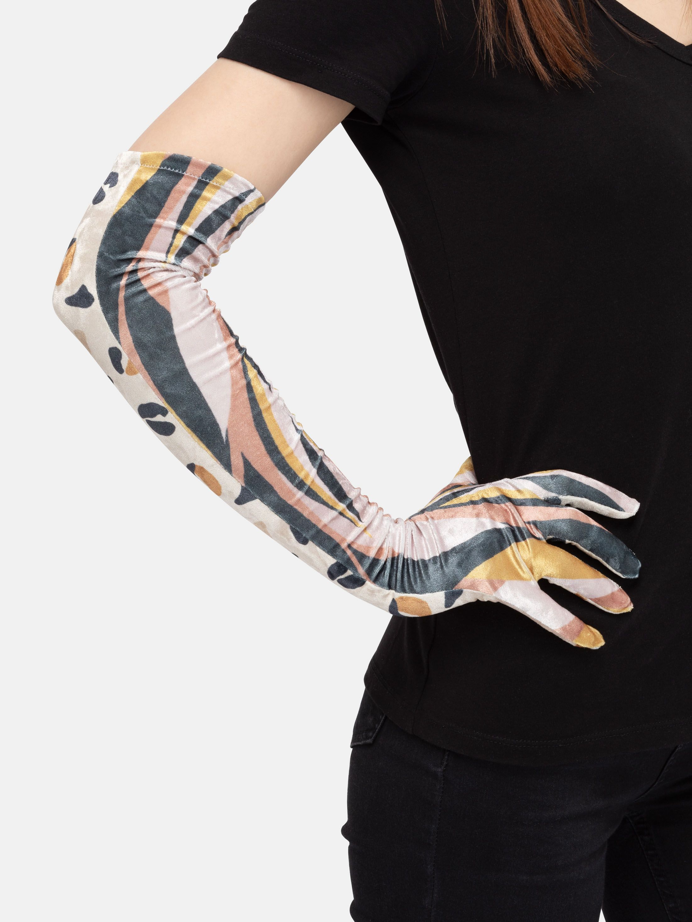 custom opera gloves