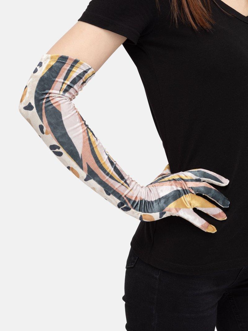 gants longs de soirée