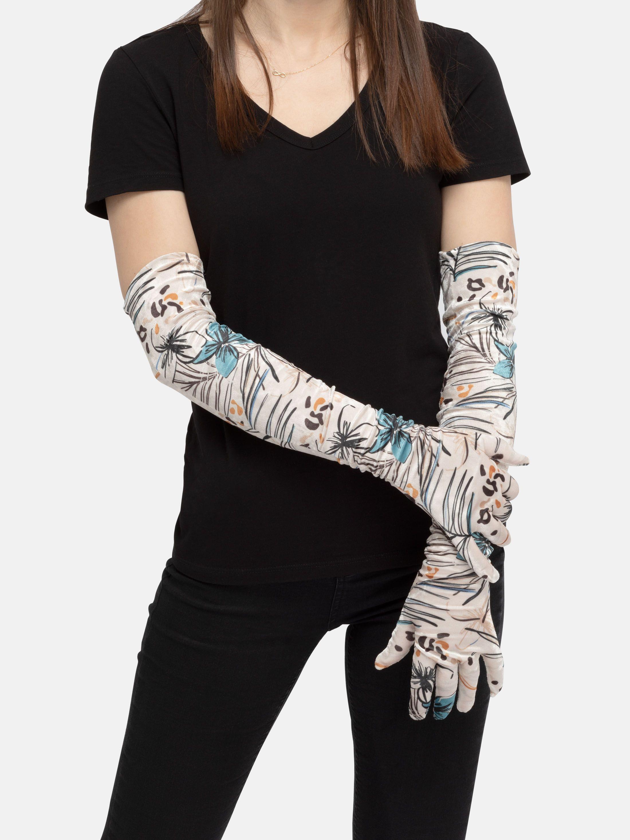 gants longs personnalisés