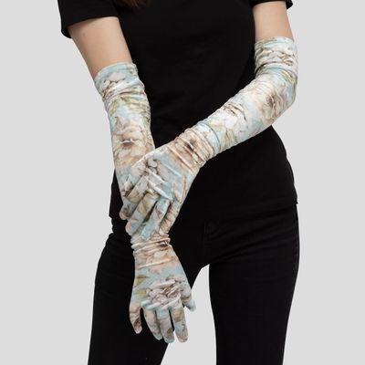 gepersonaliseerde lange handschoenen