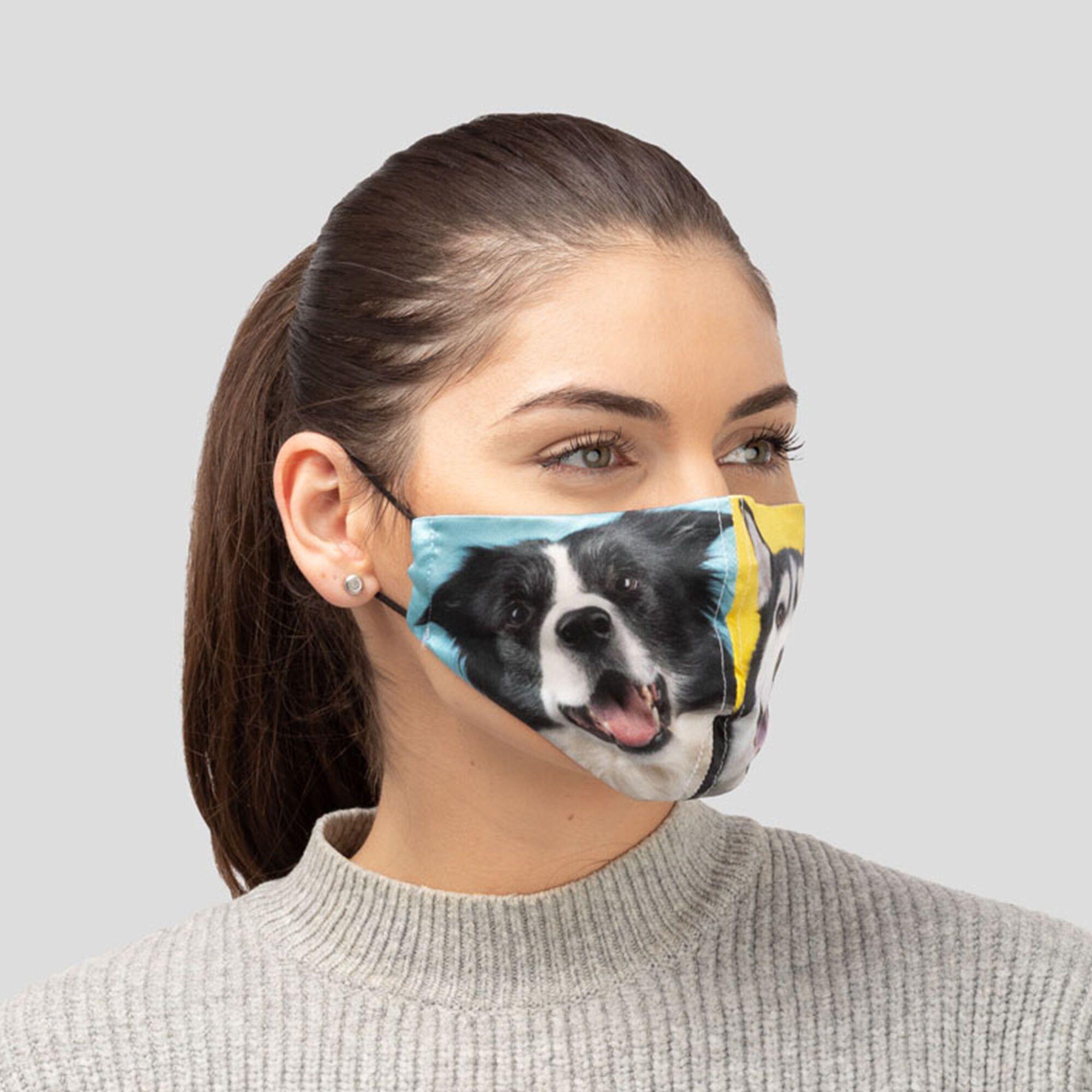 おしゃれ布マスク オリジナルプリント