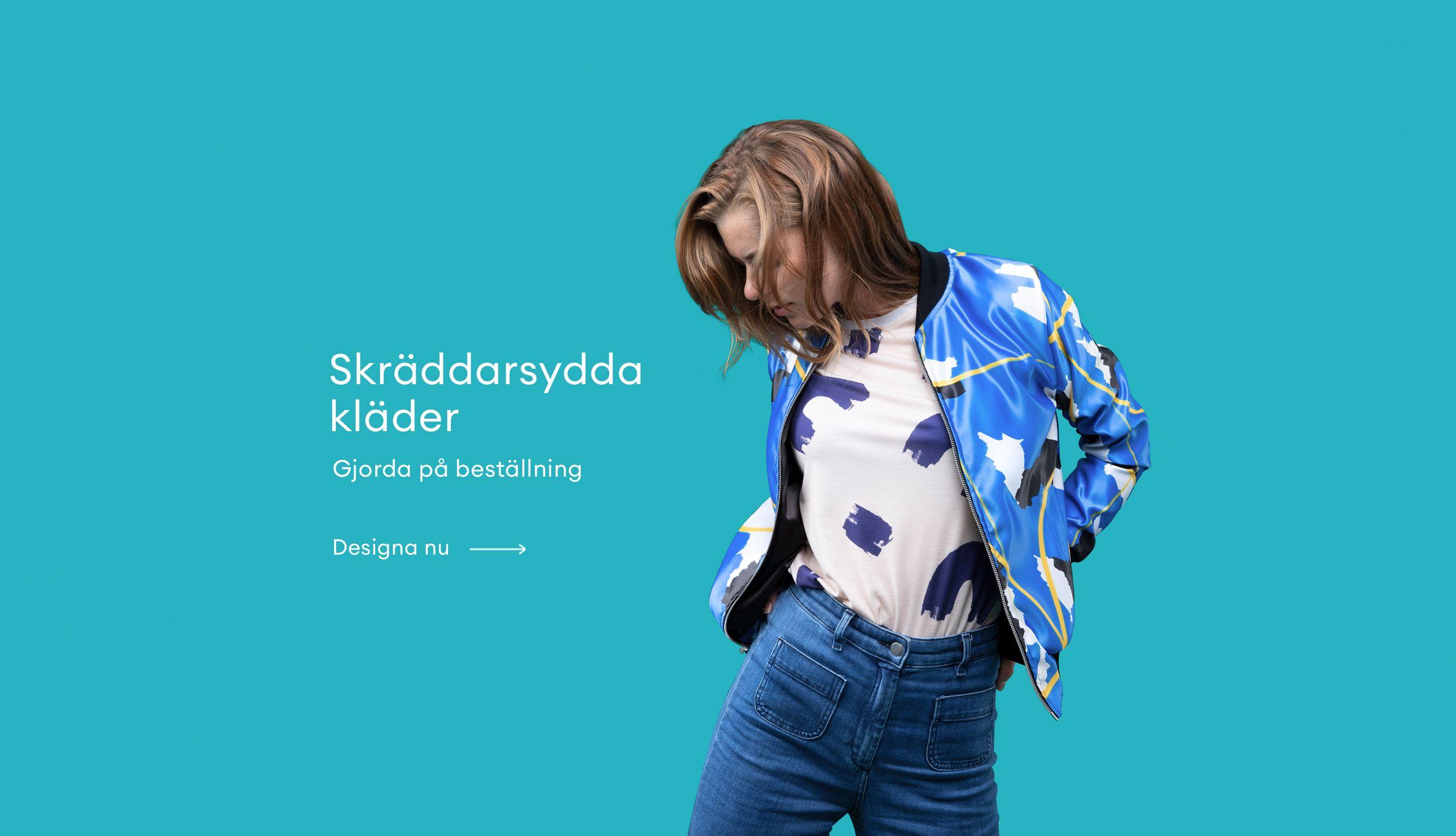 Skräddarsydda kläder Gjorda på beställning Designa nu