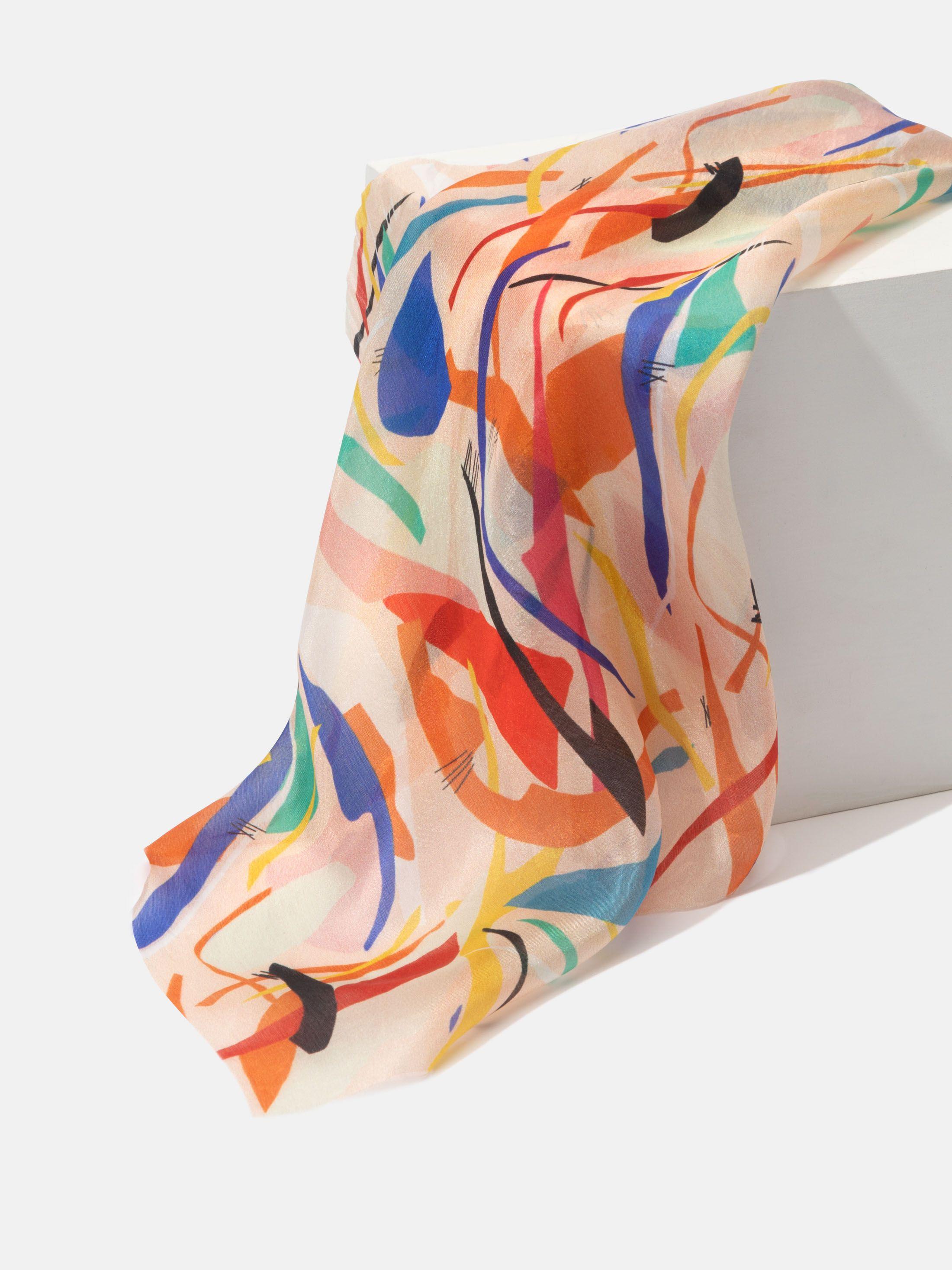 custom silk pongee