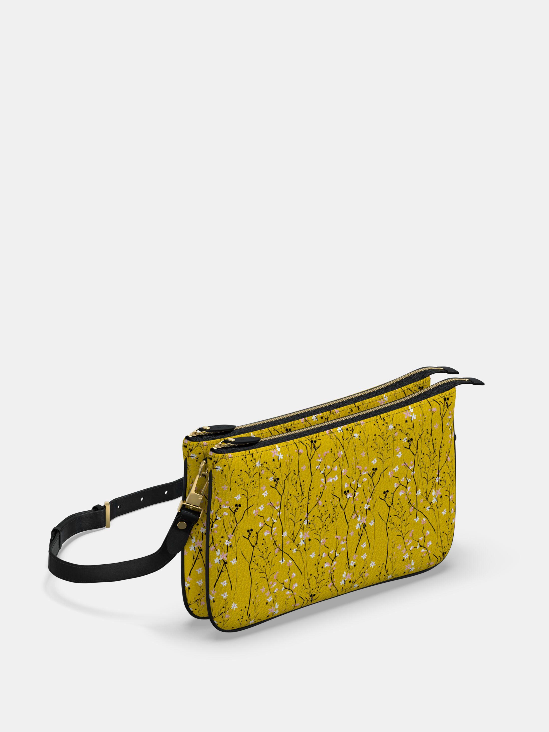 bolso de mano doble personalizado cremallera