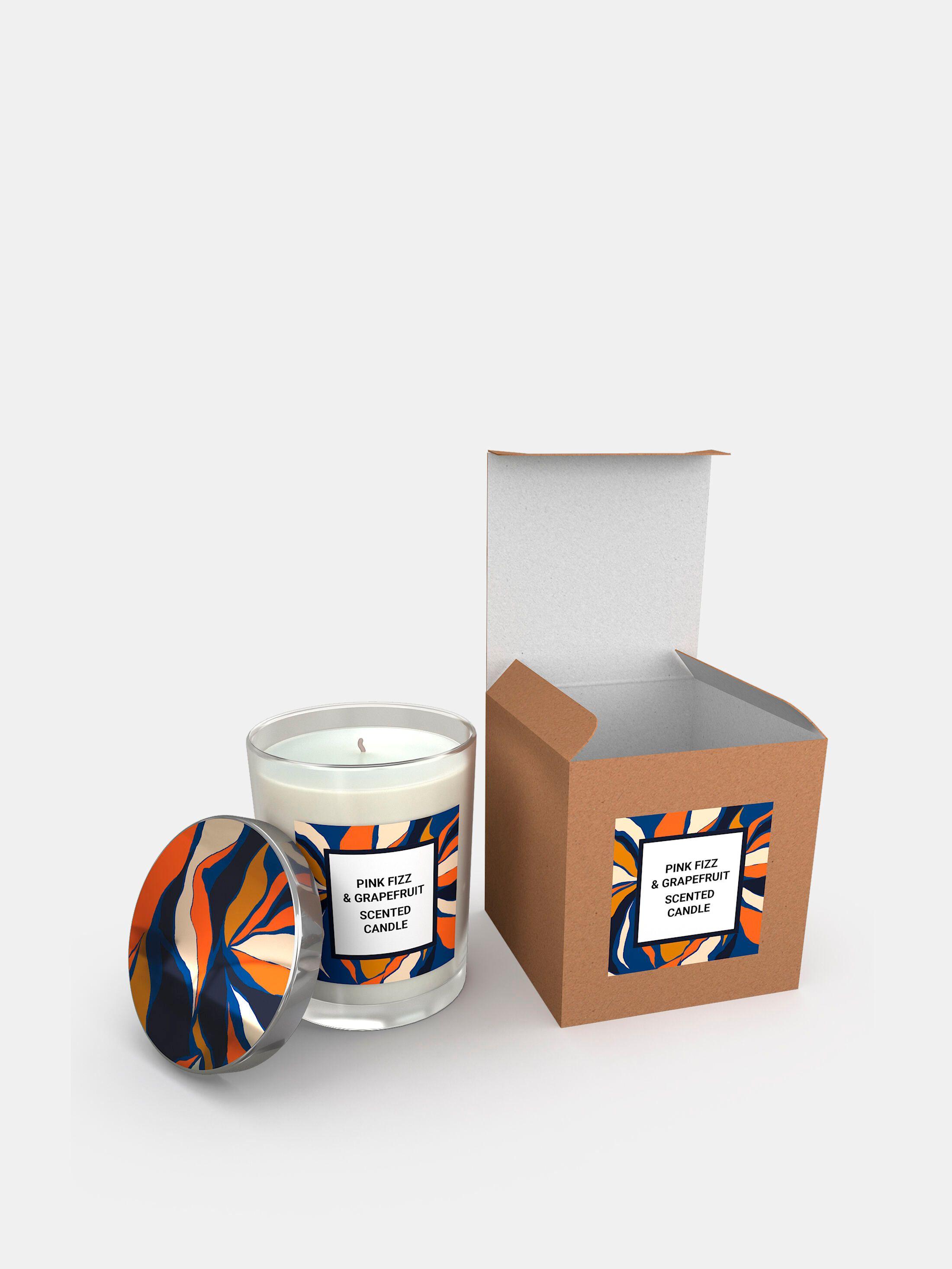 custom glass candles uk