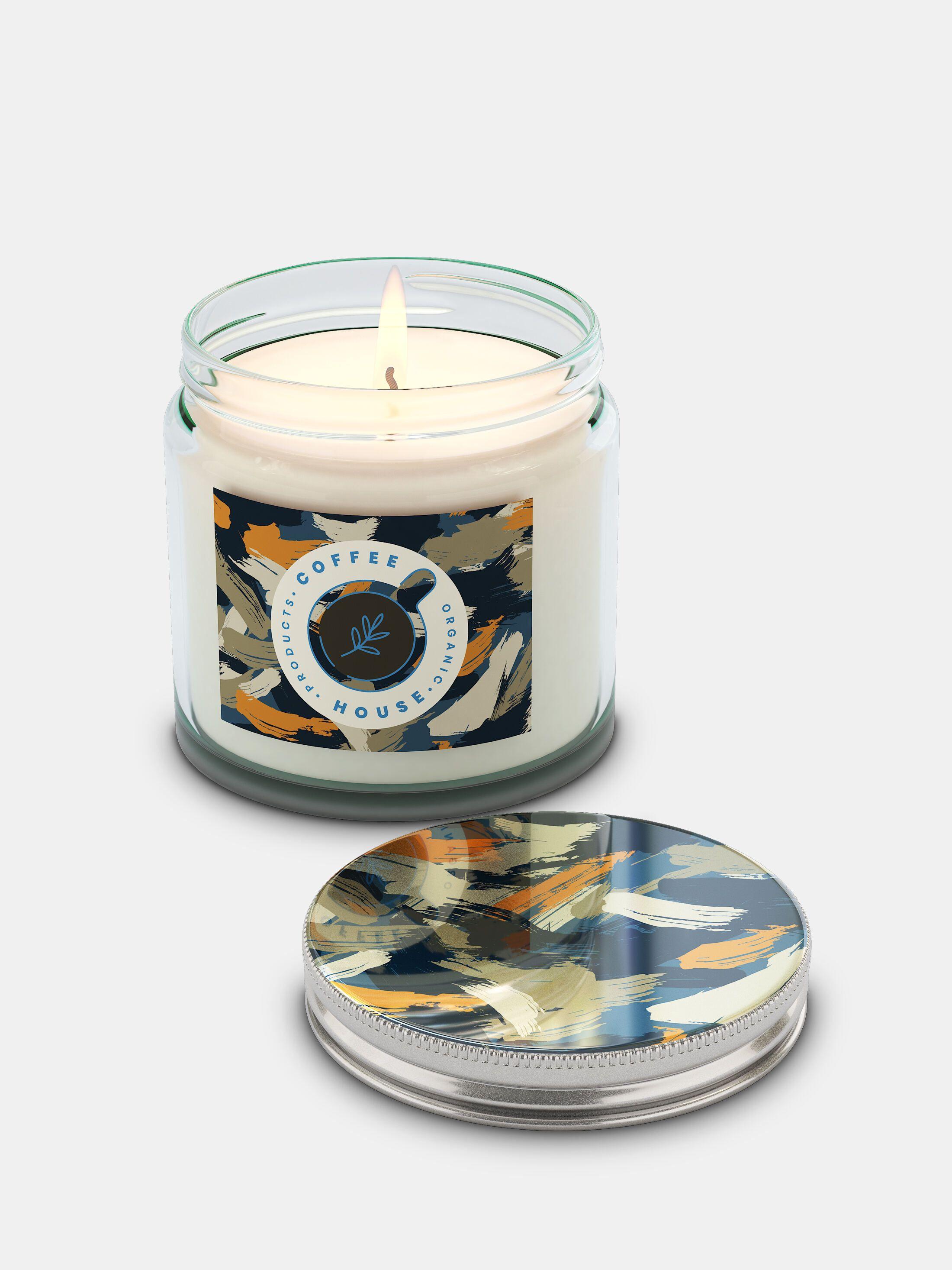 custom candle jar