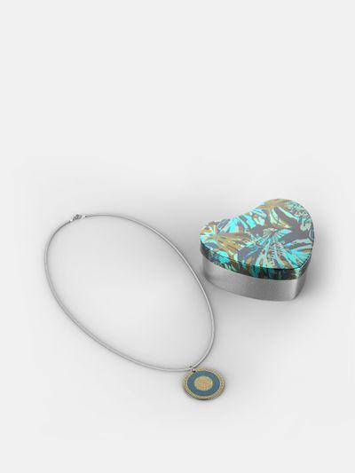 custom silver necklace