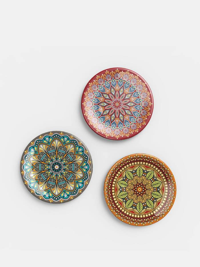 designer printed plates