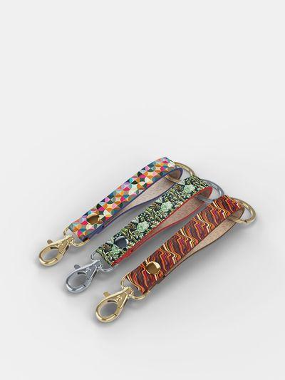 Leder Schlüsselband selbst gestalten