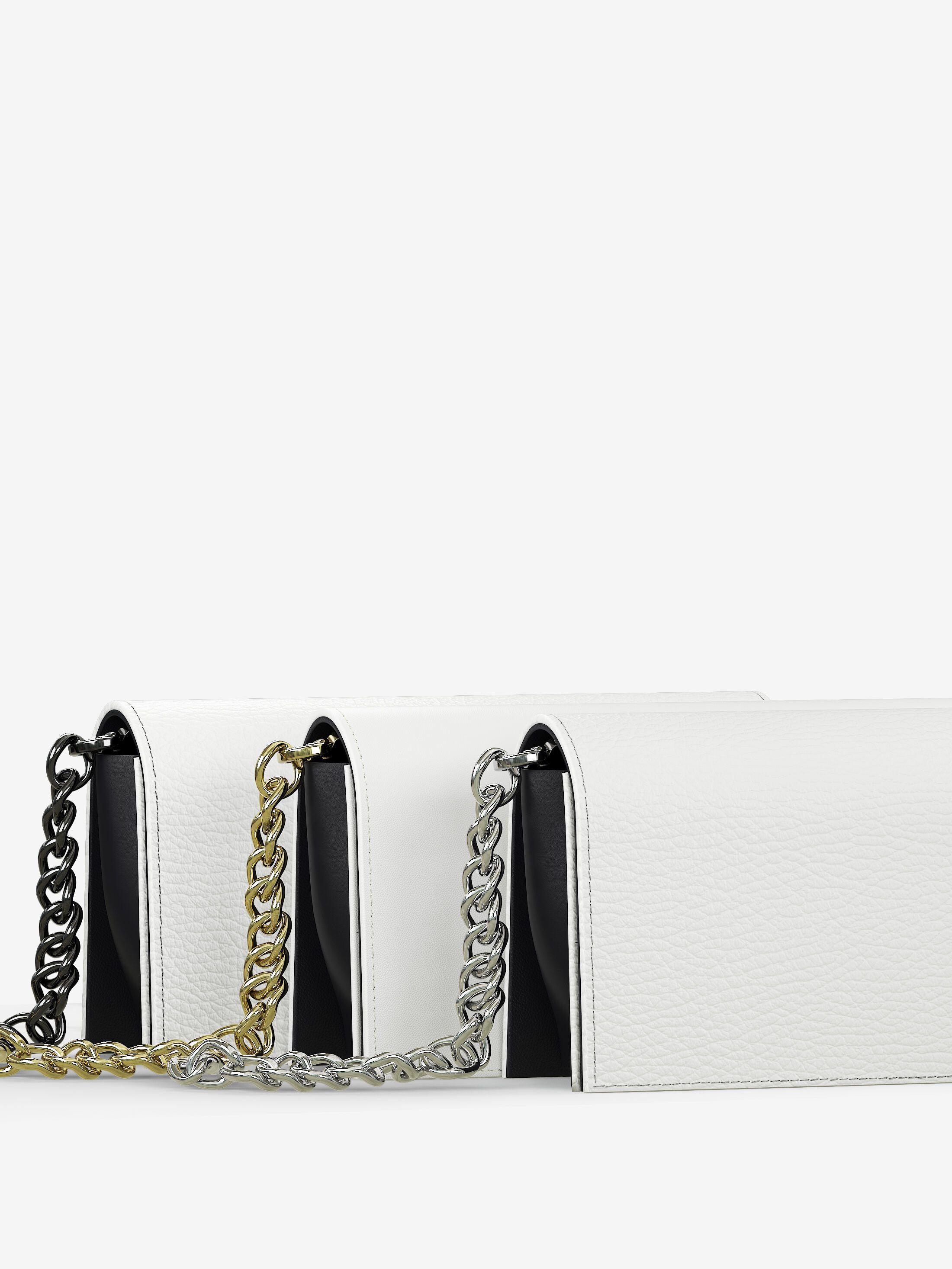 dettagli in metallo delle borse da sera personalizzate