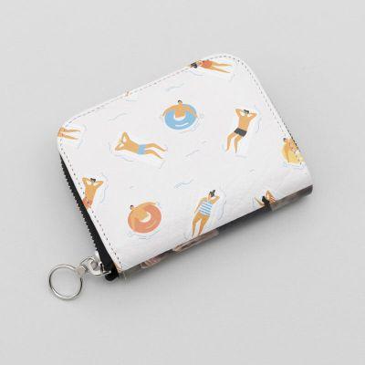 mini zip purse