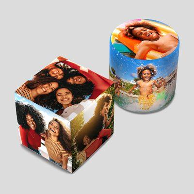 custom pouf