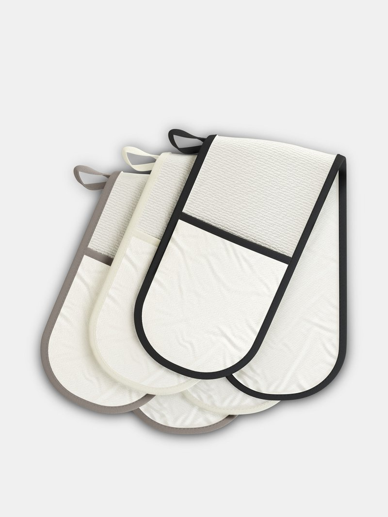 custom double oven gloves trim colours