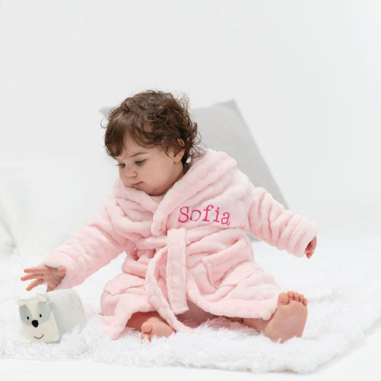 Custom Baby Robe