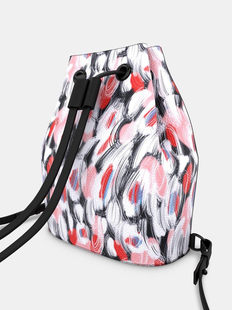 drawstring backpack custom design