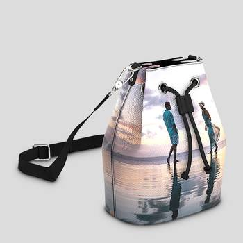 Printed Bucket Bag