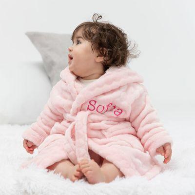 gepersonaliseerde baby badjas