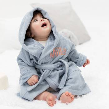 peignoir bébé personnalisé