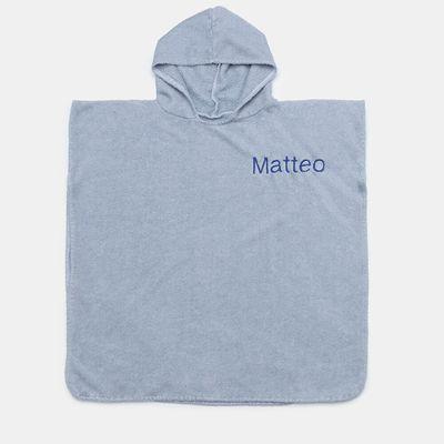 personalised poncho towel