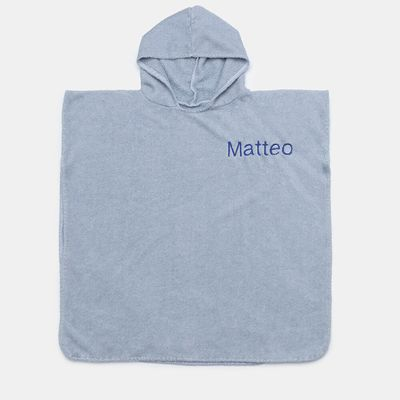 personalized poncho towel