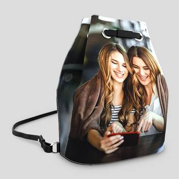 custom bucket backpack