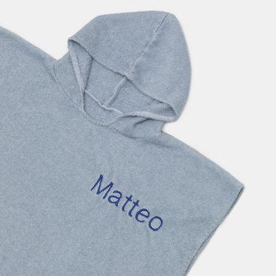 toalla poncho personalizada