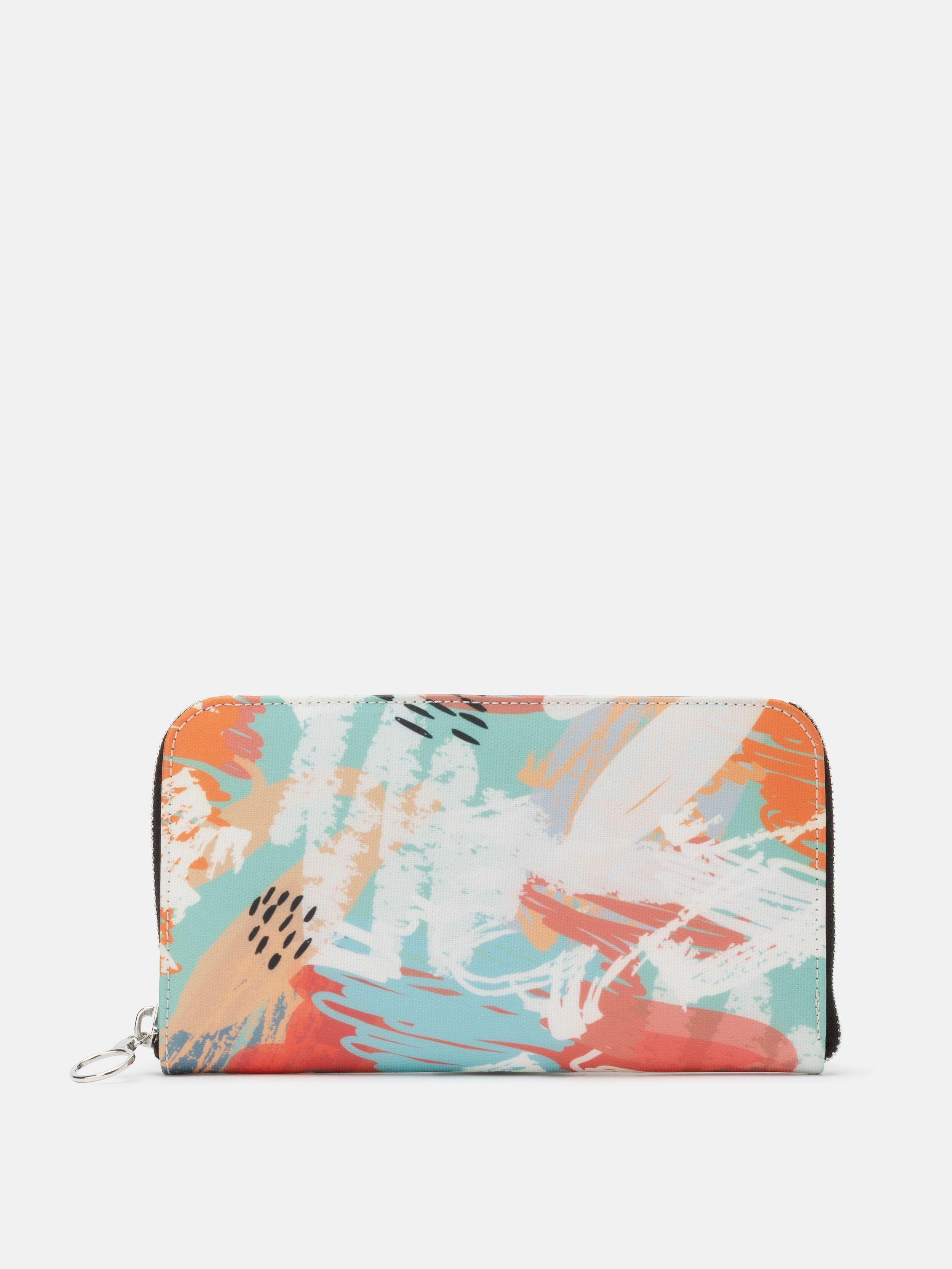 women's zip around wallet