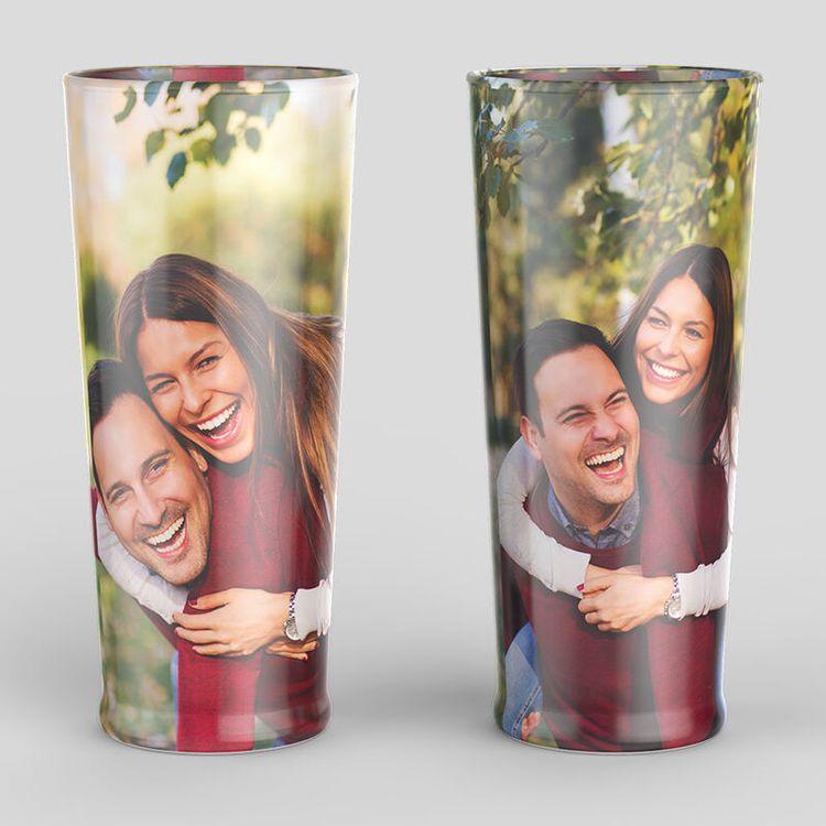 Biergläser mit Foto bedrucken