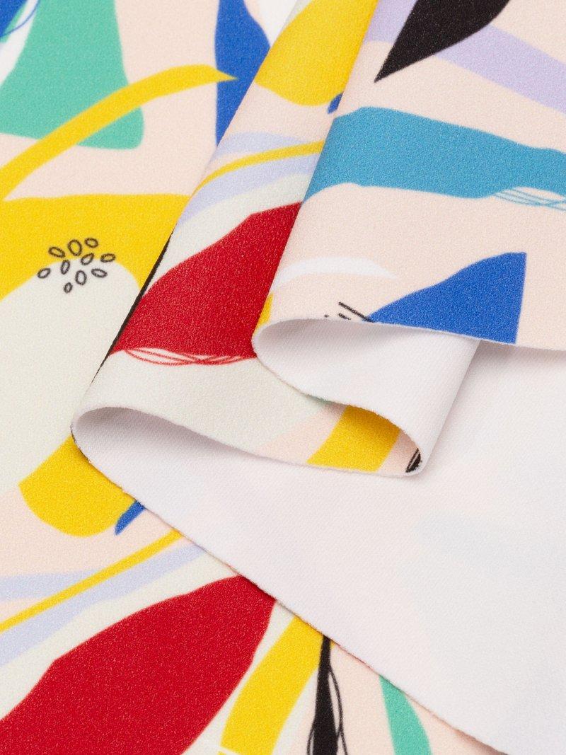 scuba crepe fabric UK customised printing