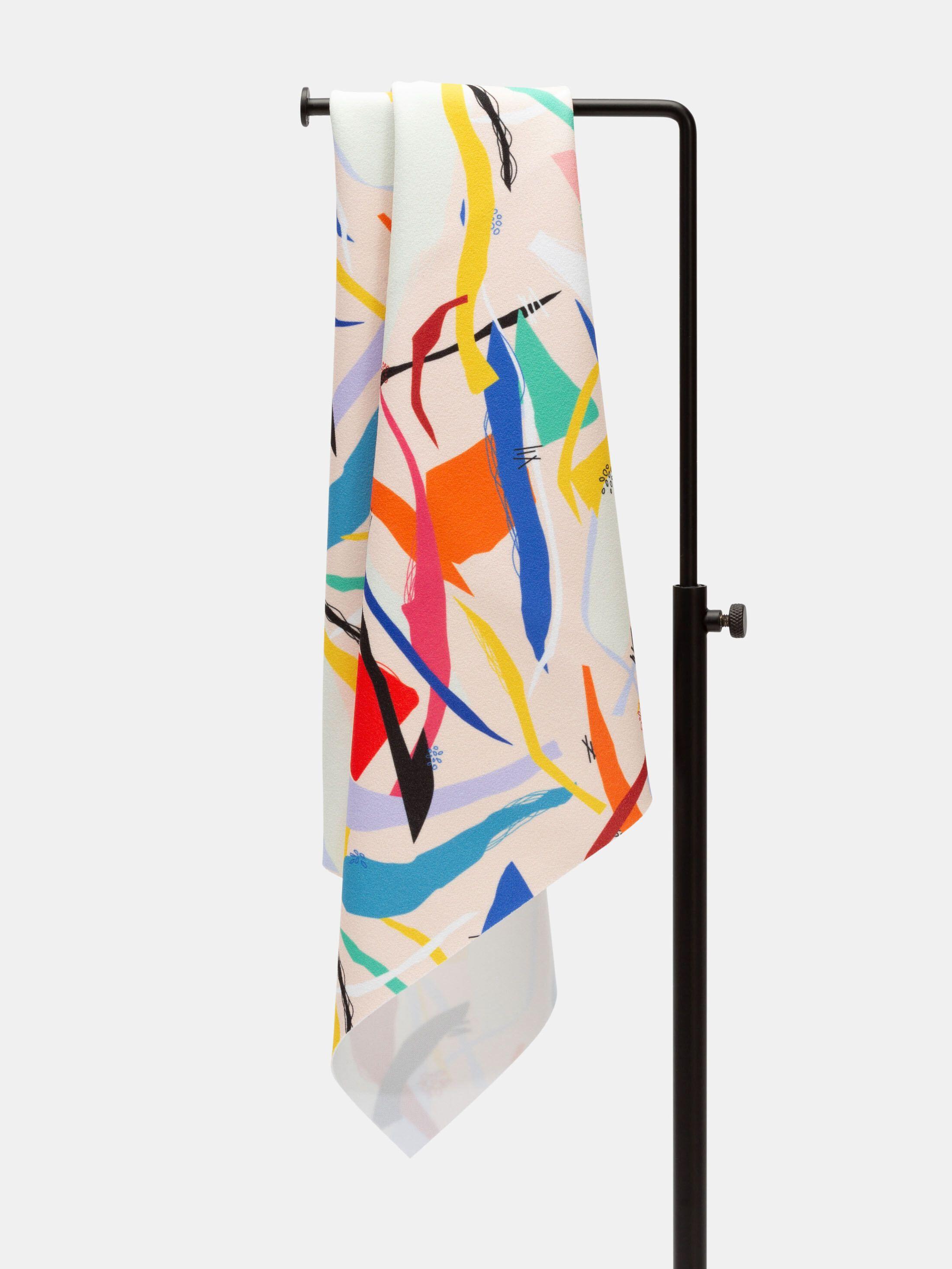 scuba crepe fabric UK edge options