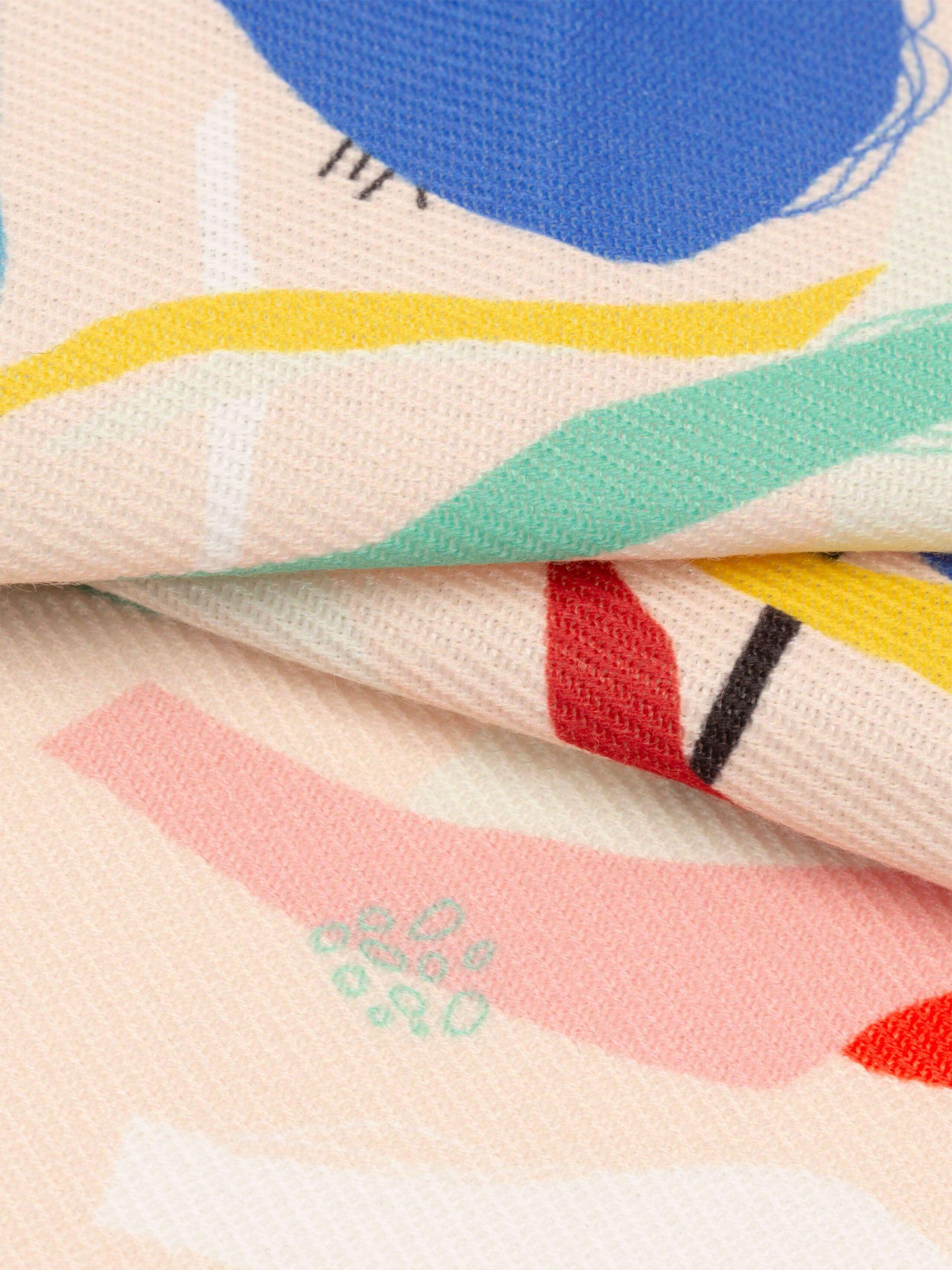 printing Trafalgar fabric swatch