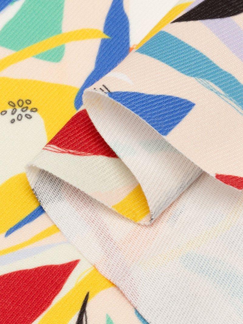 Digital printing on Trafalgar twill fabric