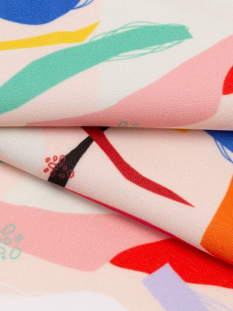 custom Heavy Matt Lycra fabric printing