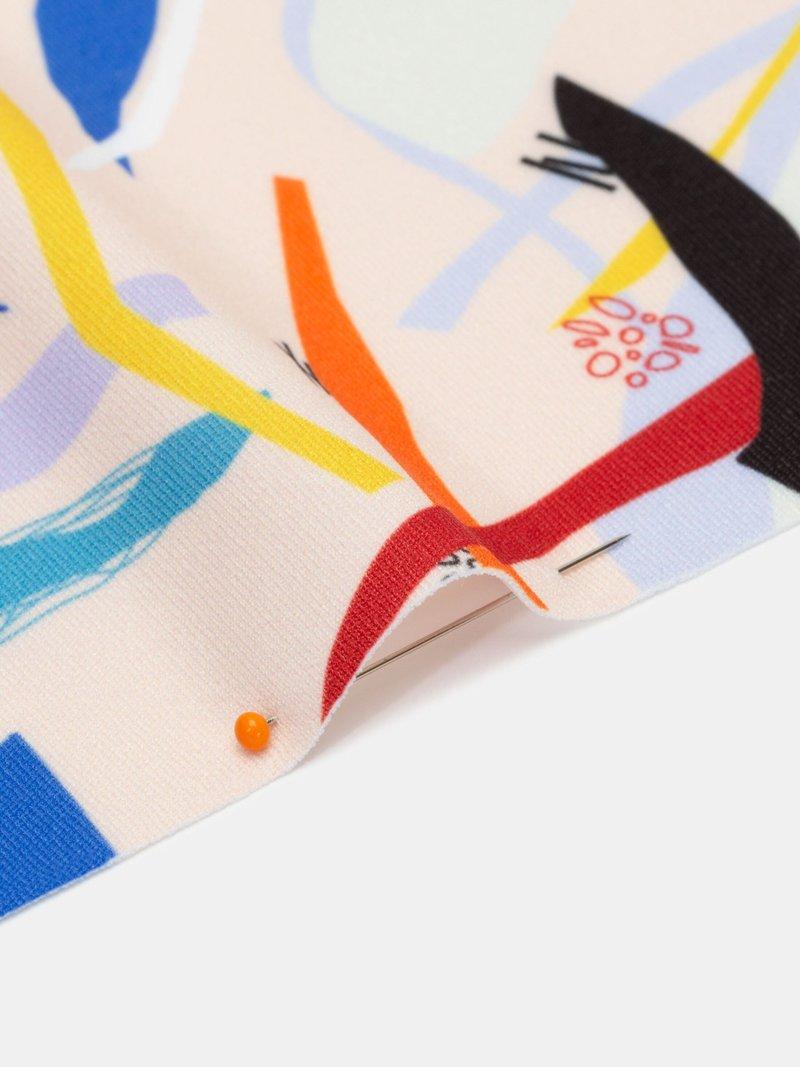 Printing on Heavy Matte Lycra Fabric custom