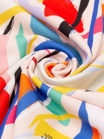 heavy matt lycra dress fabric
