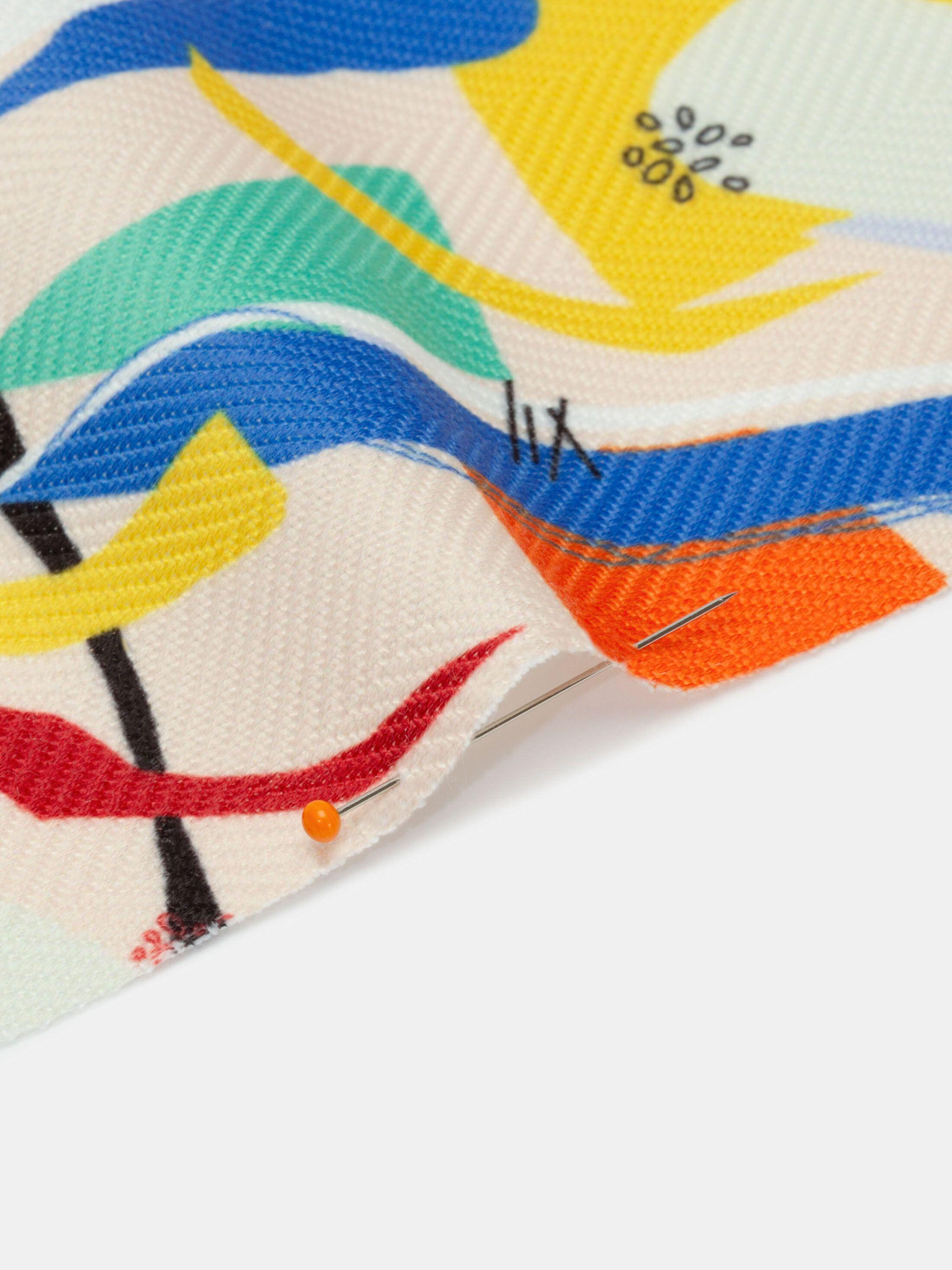 Digitaltryck på Mayfair textil