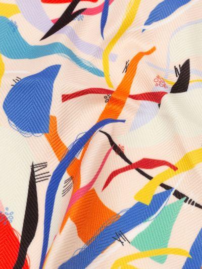 メイフェアー・ヘリンボーン 布印刷