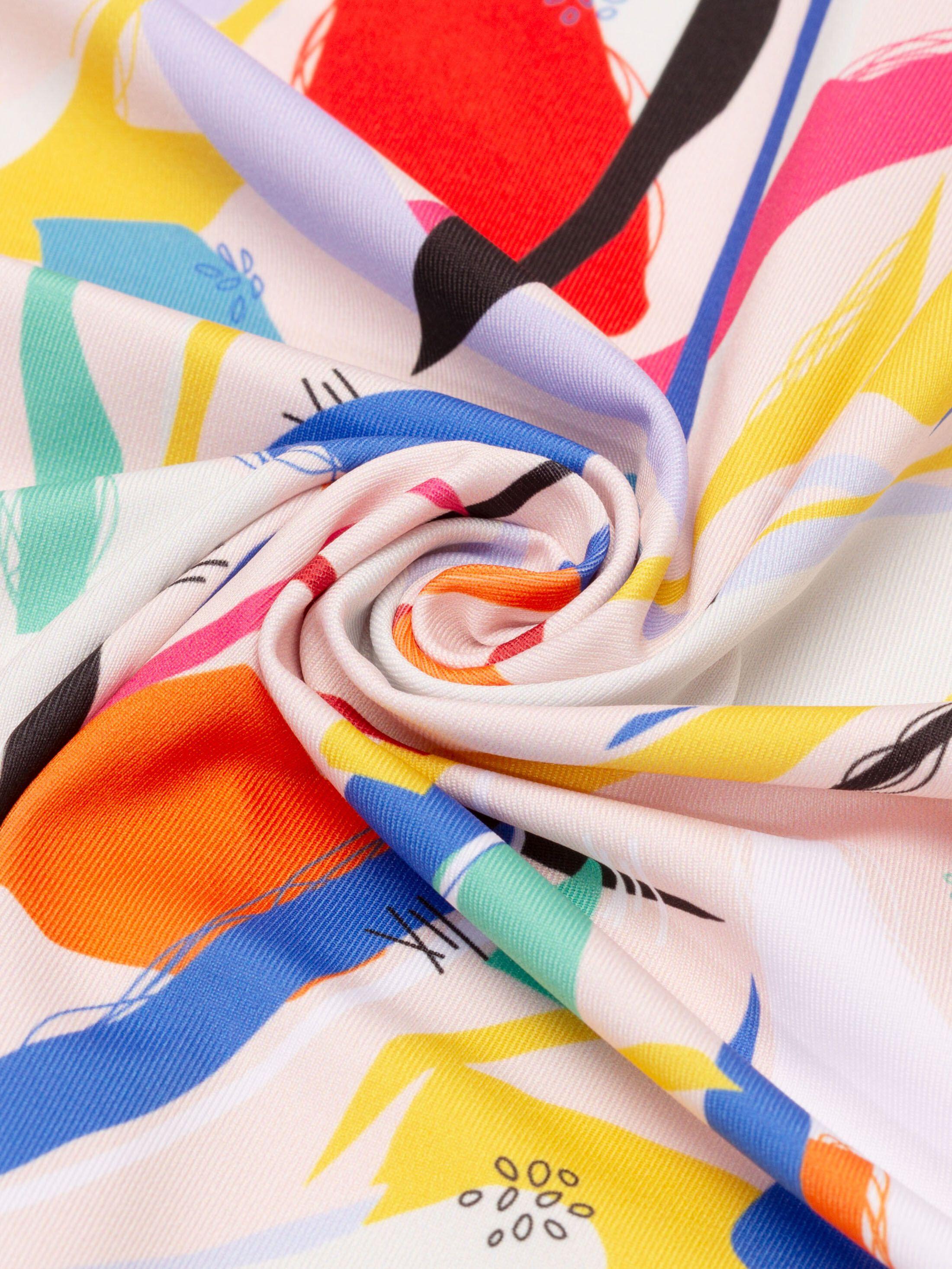 Custom heavy matte lycra fabric
