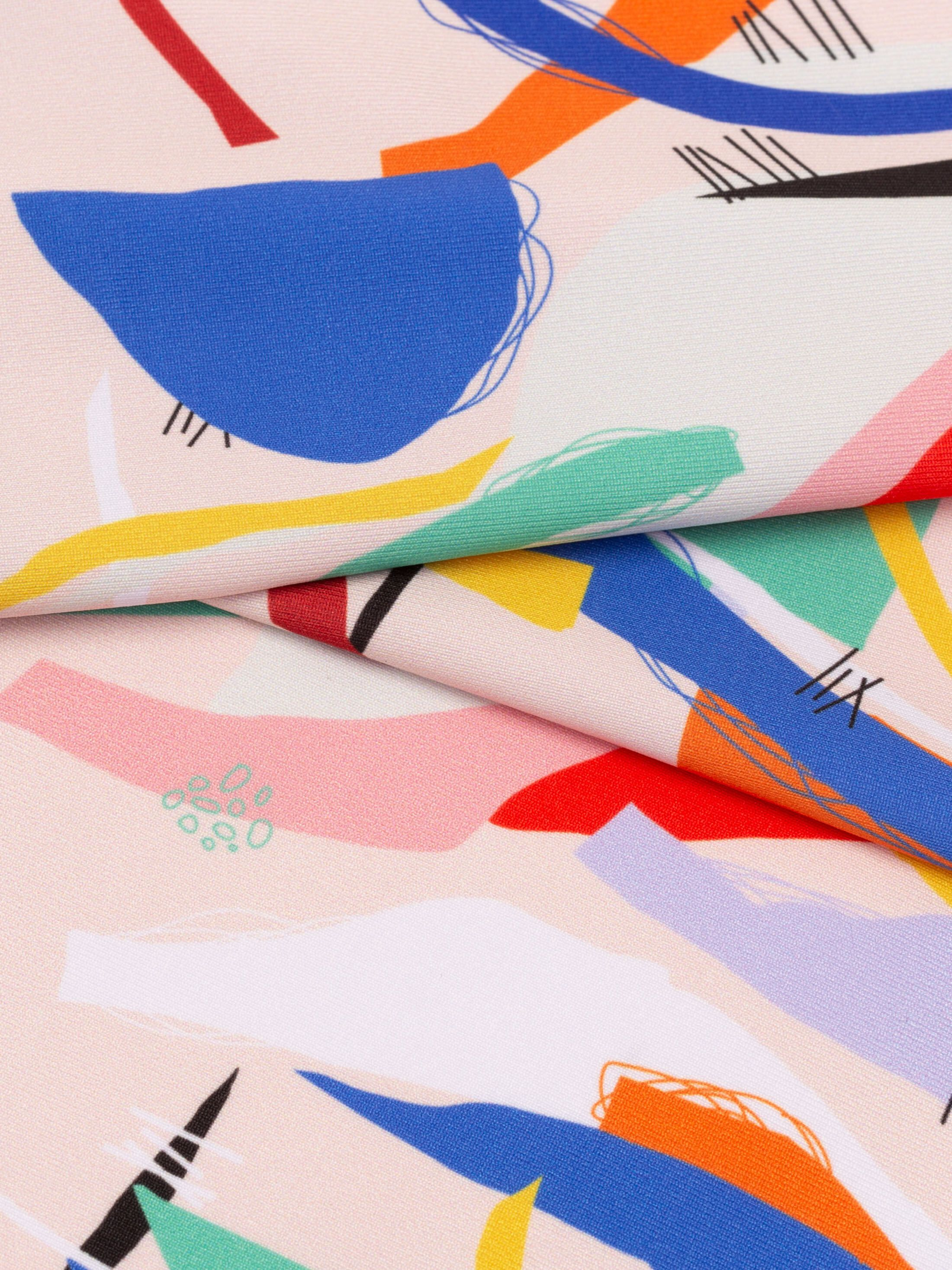 custom Heavy Matte Lycra fabric printing