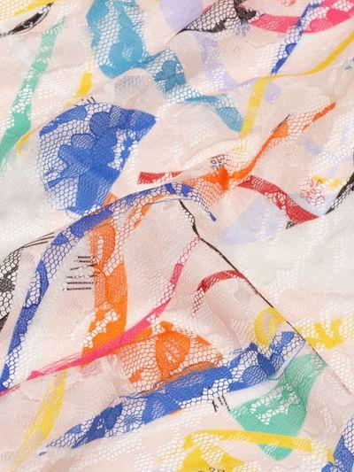 stampa su pizzo Blossom Lace