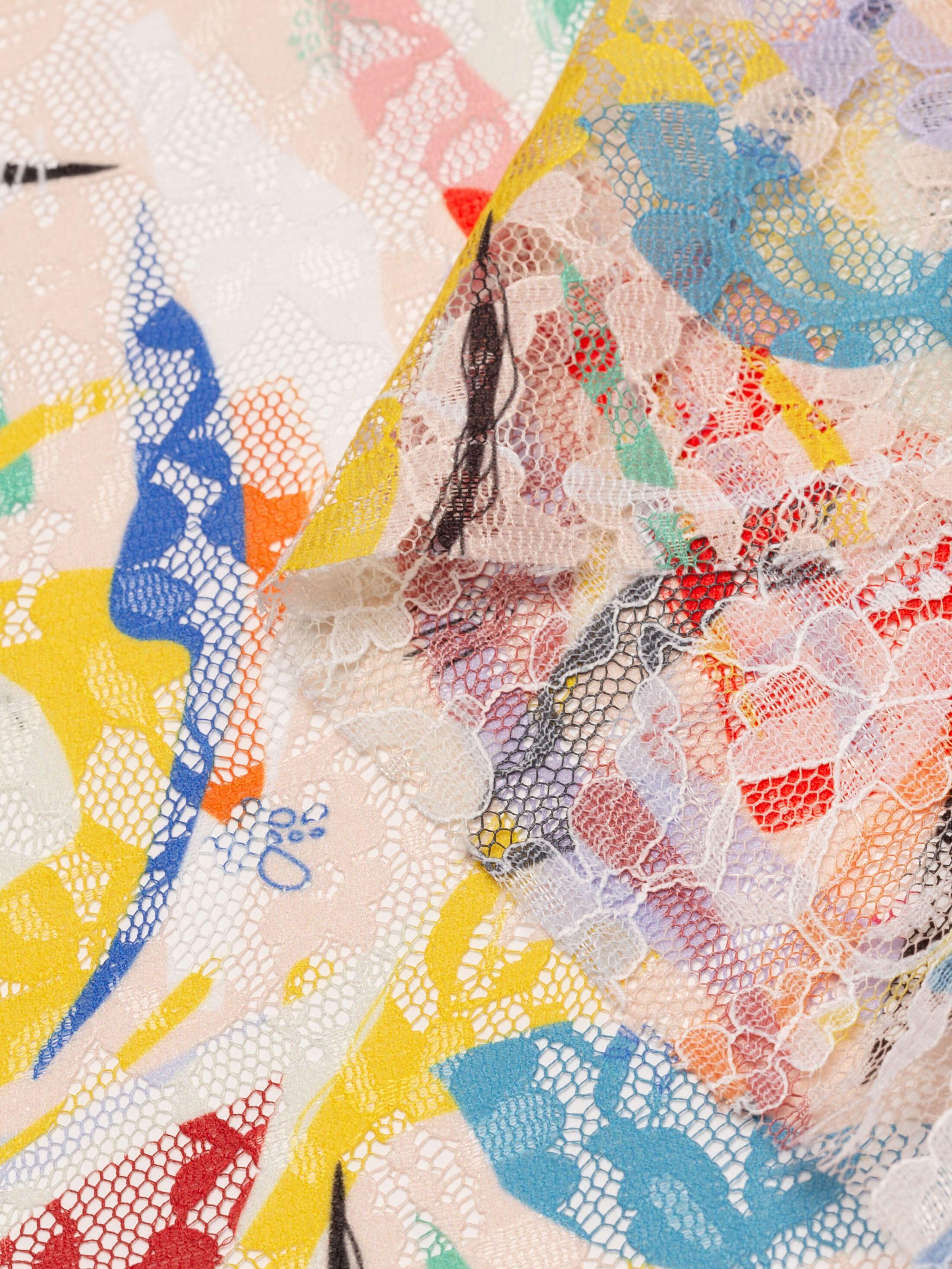 blossom lace fabric