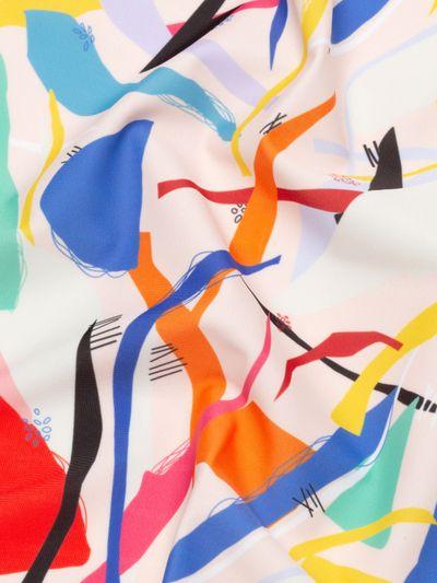 Digital Slinky Matt Lycra Printing