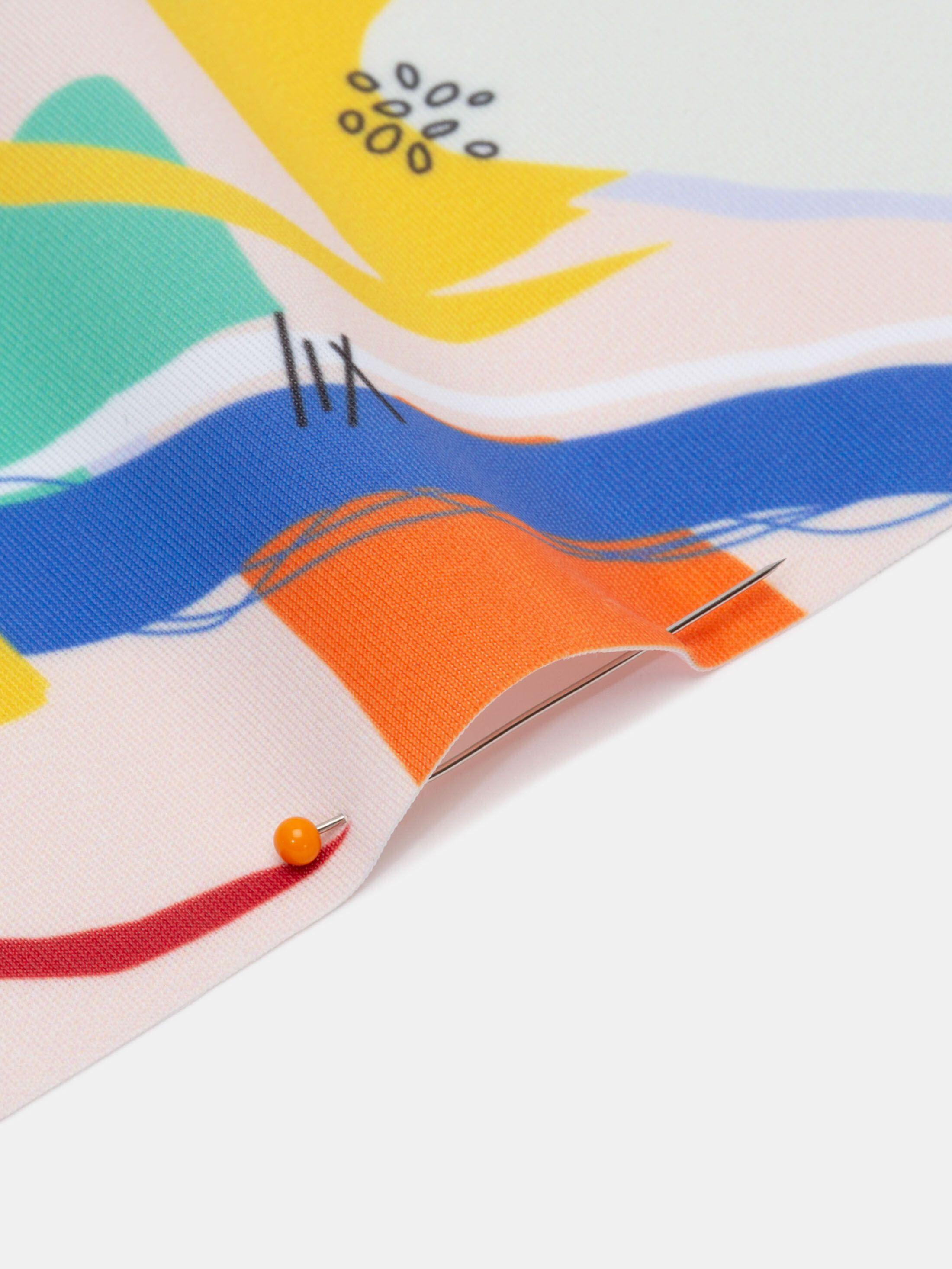 custom Slinky Lycra elastane fabric printing weave details