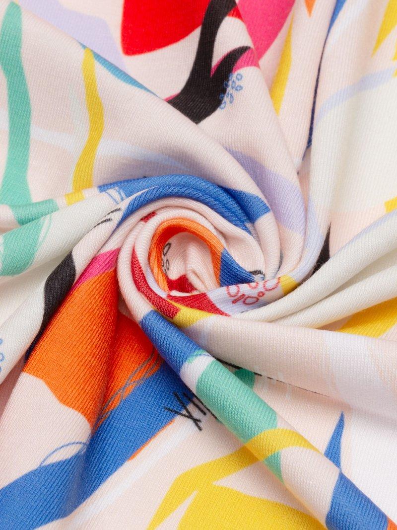 print on soft jersey fabric