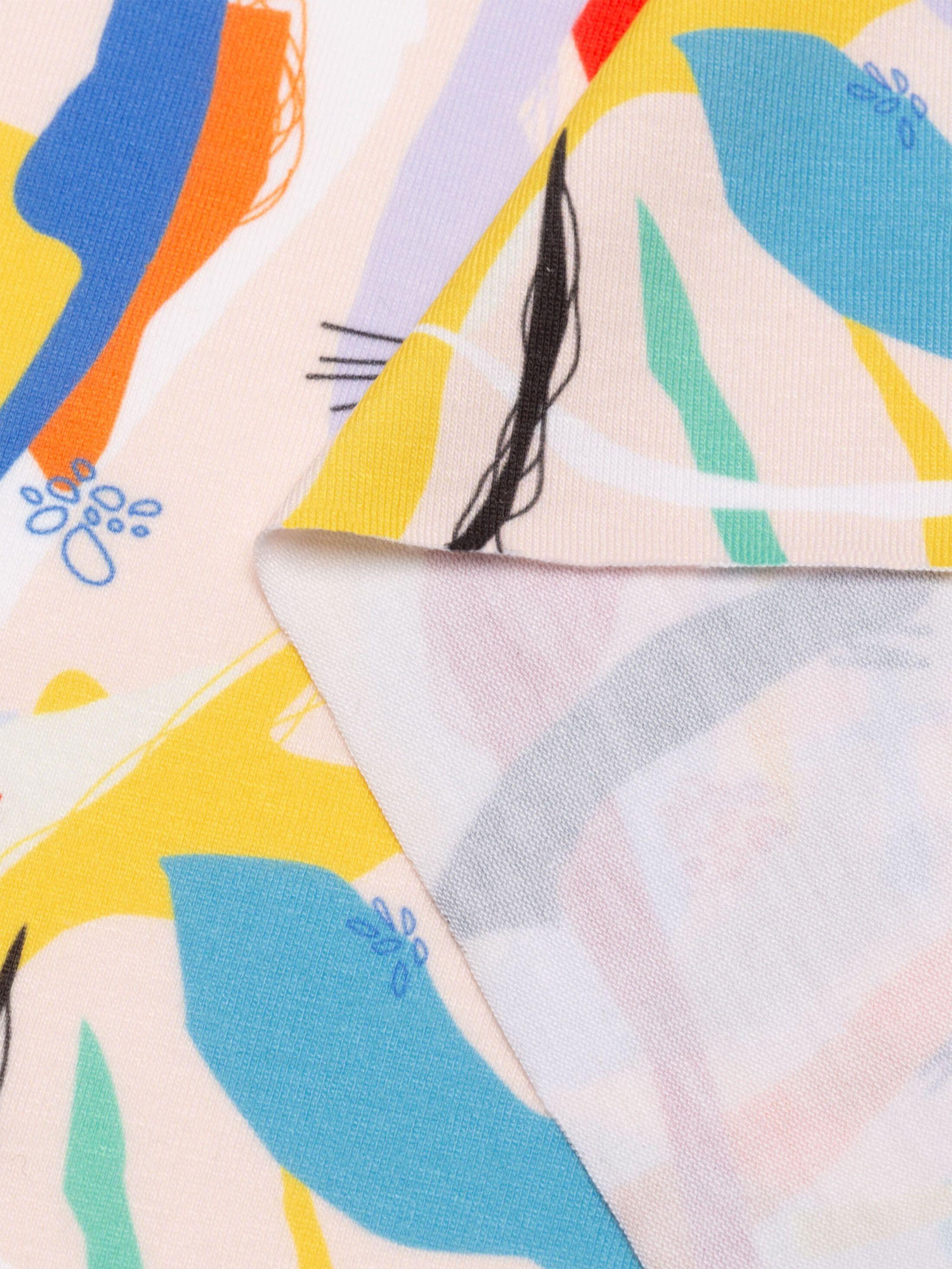 crea il tuo tessuto in jersey morbido