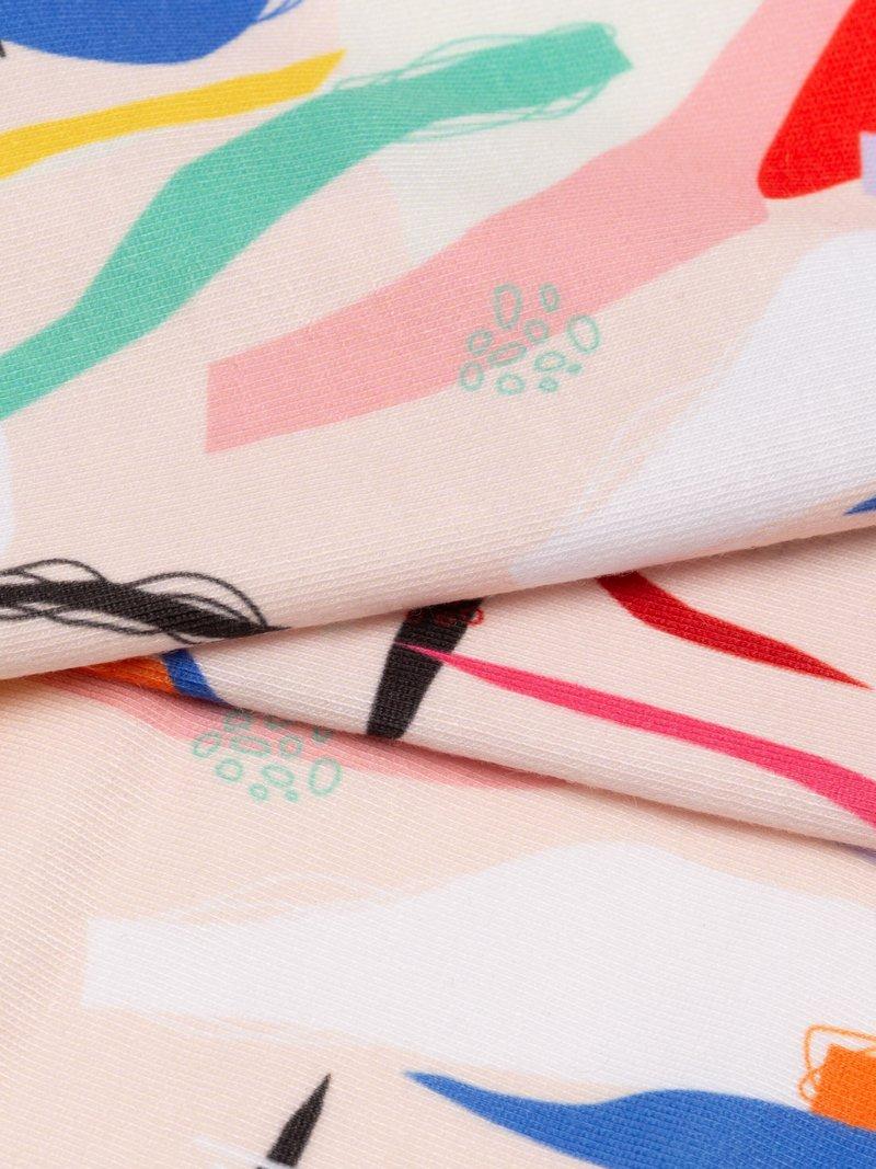 print on soft fashion jersey