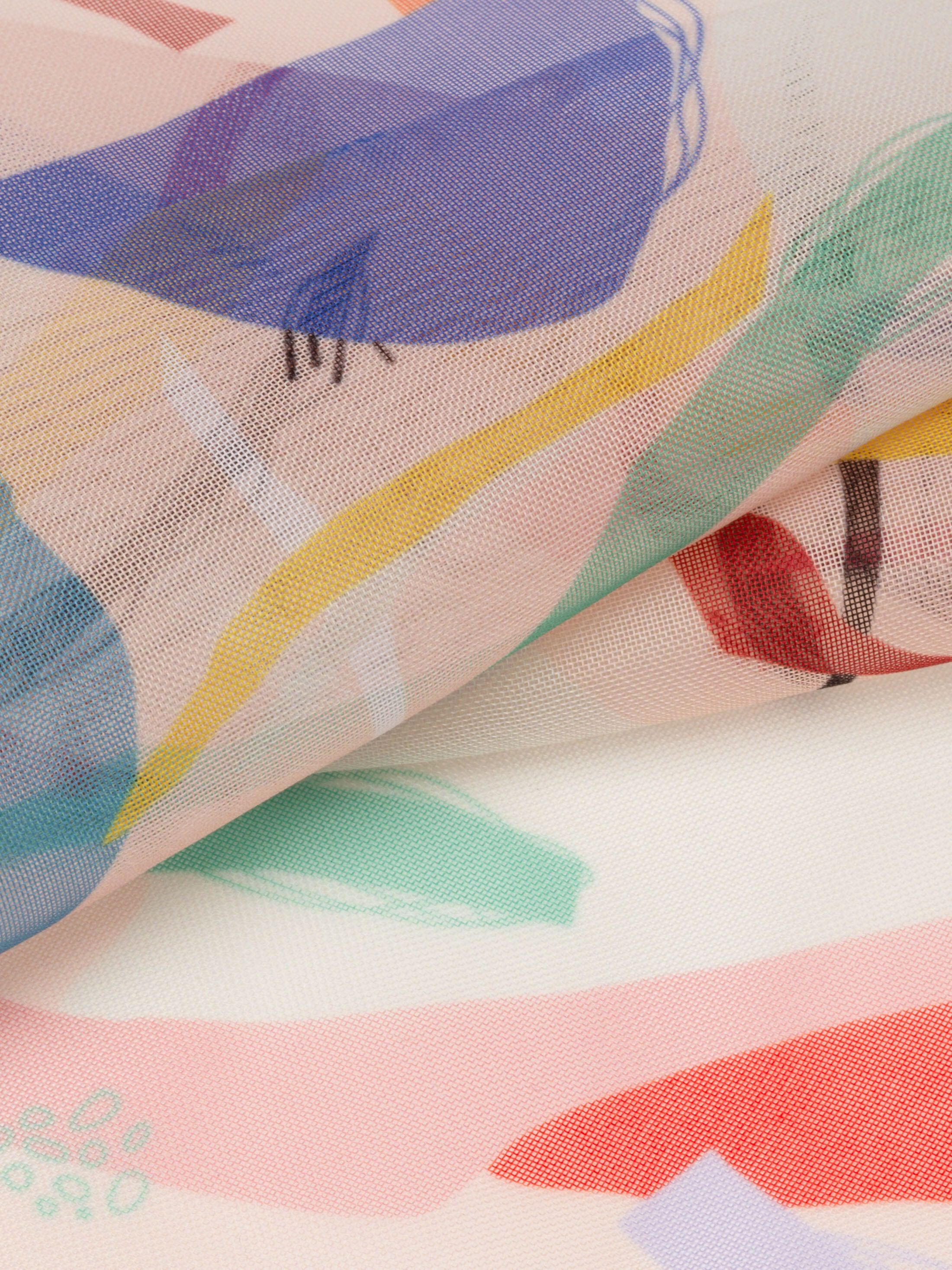 digital printing on Volando Voile fabric