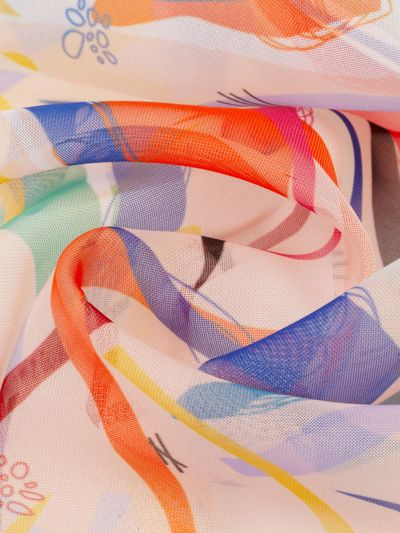 Polyester Voile bedrucken