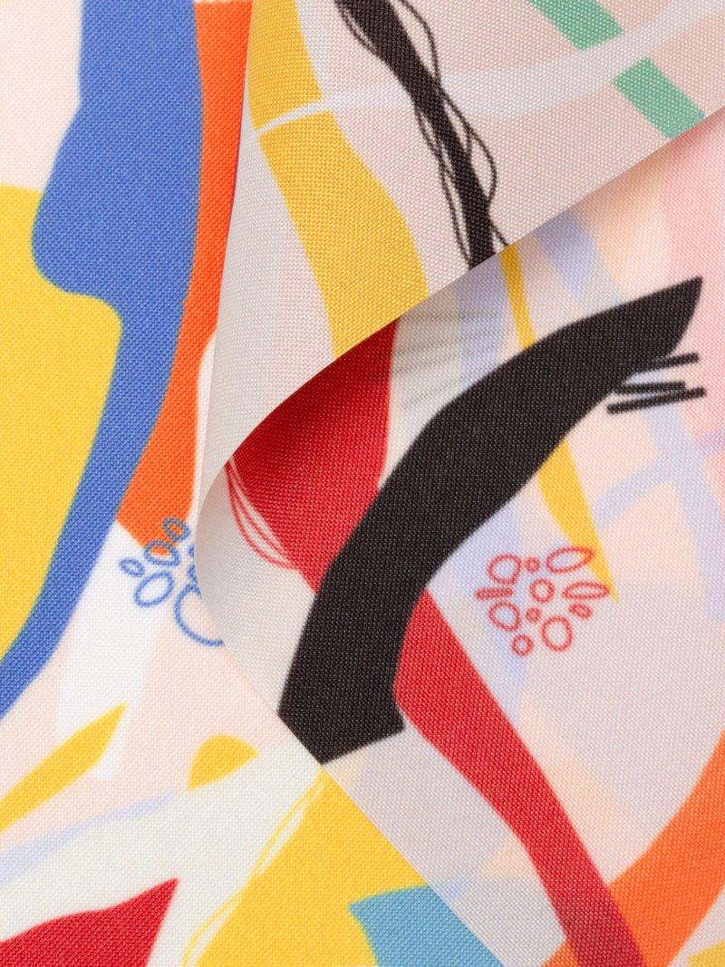Impresión en tela impermeable para paraguas