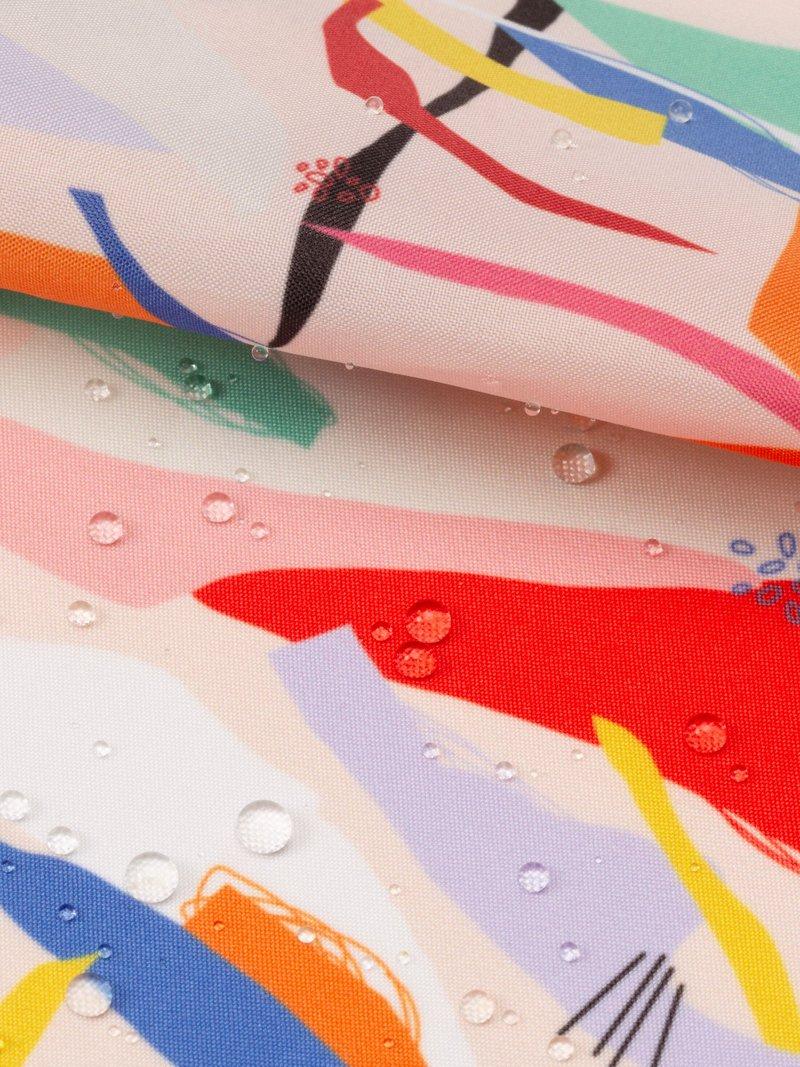digitaal bedrukken van Ella Waterproof gevouwen